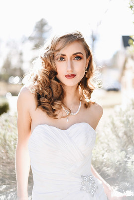 Classic Bridal Hair & Makeup at the Homewood