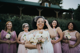 Natural Hair Bride, Mills River, NC