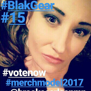 BLAK G3AR - Merch Model - 2017
