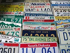 USナンバープレート50州