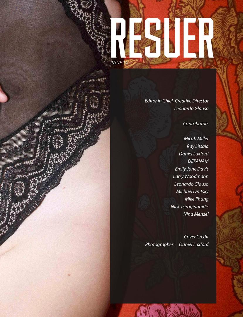 Ray Litsala x Resuer Magazine