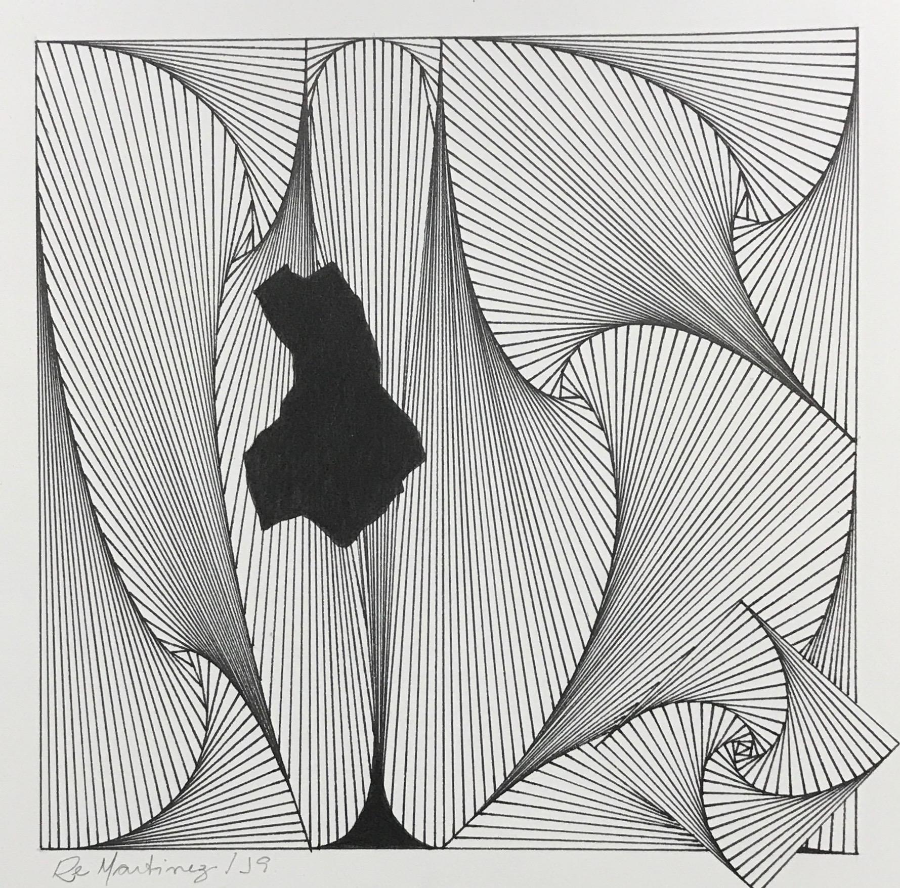 fractais desconstruídos preto