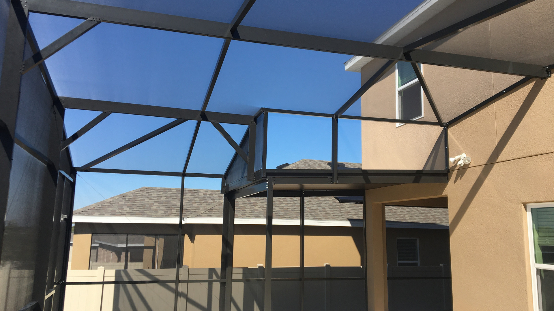 patio enclosure construction