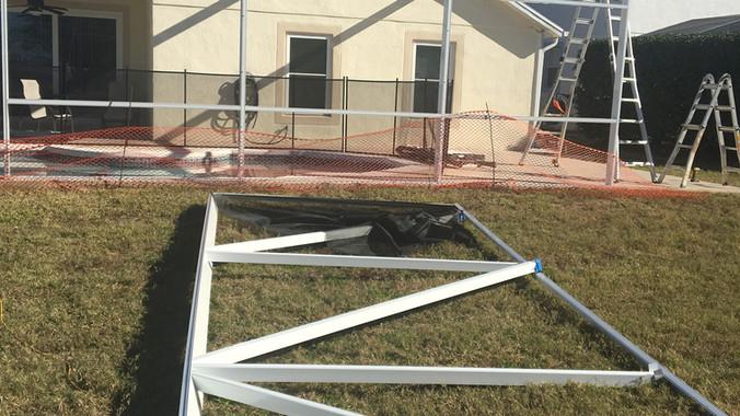 pool enclosure new construction