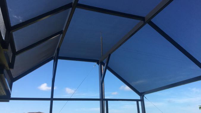 patio enclosure with elite roof