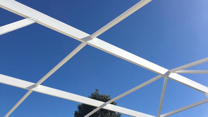 pool enclosure frame