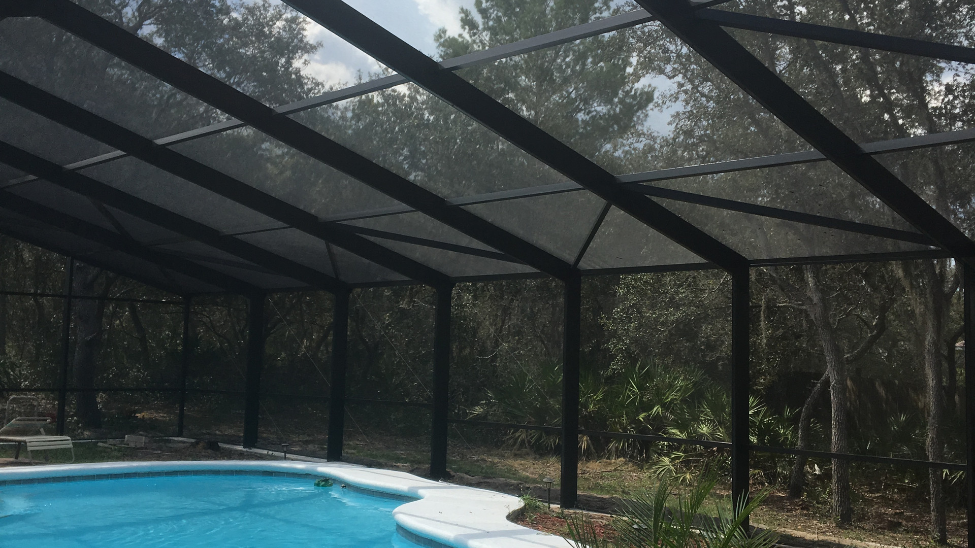 40x60 pool enclosure -poinciana fl