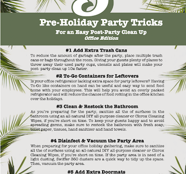 Pre-Holiday Party Cleaning Tricks