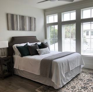 Light and bright Queen Bedroom Main House