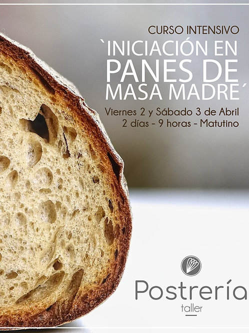 Curso intensivo 'INICIACIÓN EN PANES DE MASA MADRE' - [PRESENCIAL]