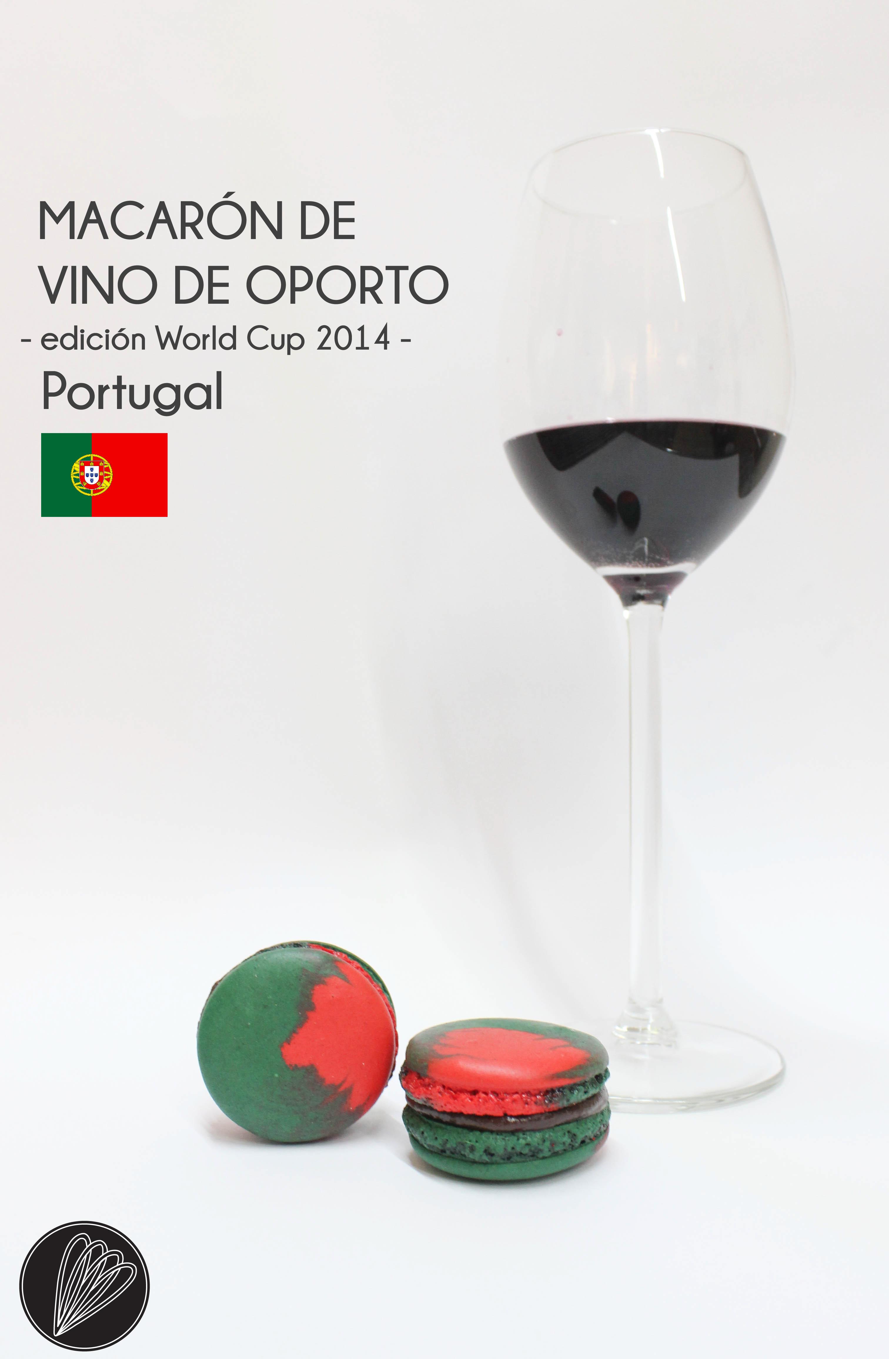 Macarón de Portugal