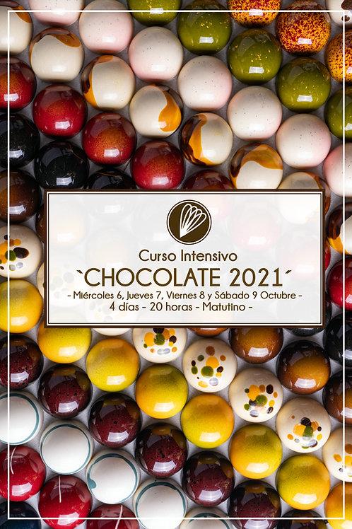 CHOCOLATE - Curso presencial - Octubre 2021