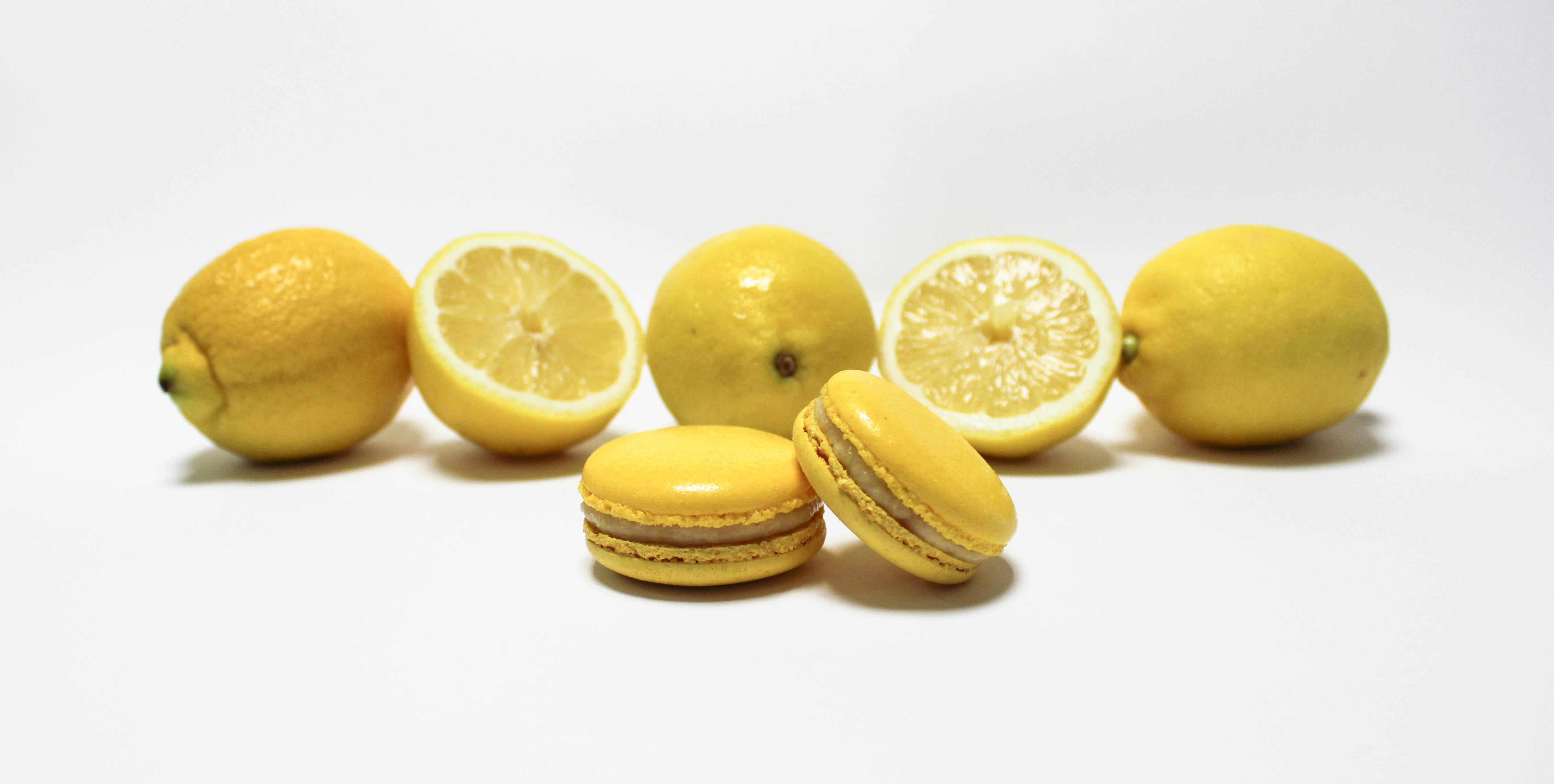 Macarón de Limón y Caramelo