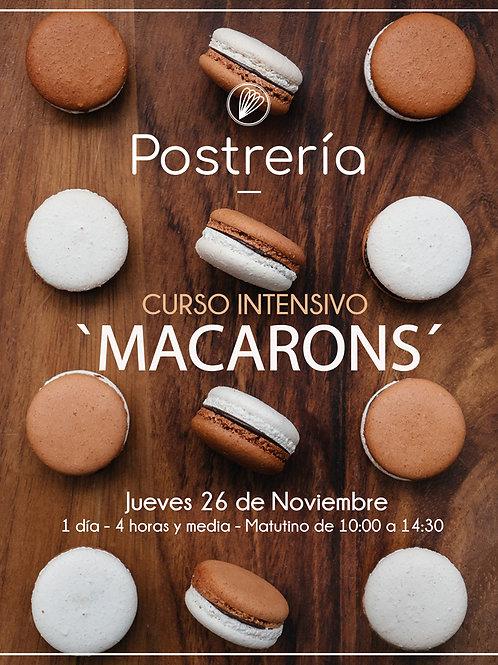 Curso 'MACARONS' - Noviembre - [PRESENCIAL]