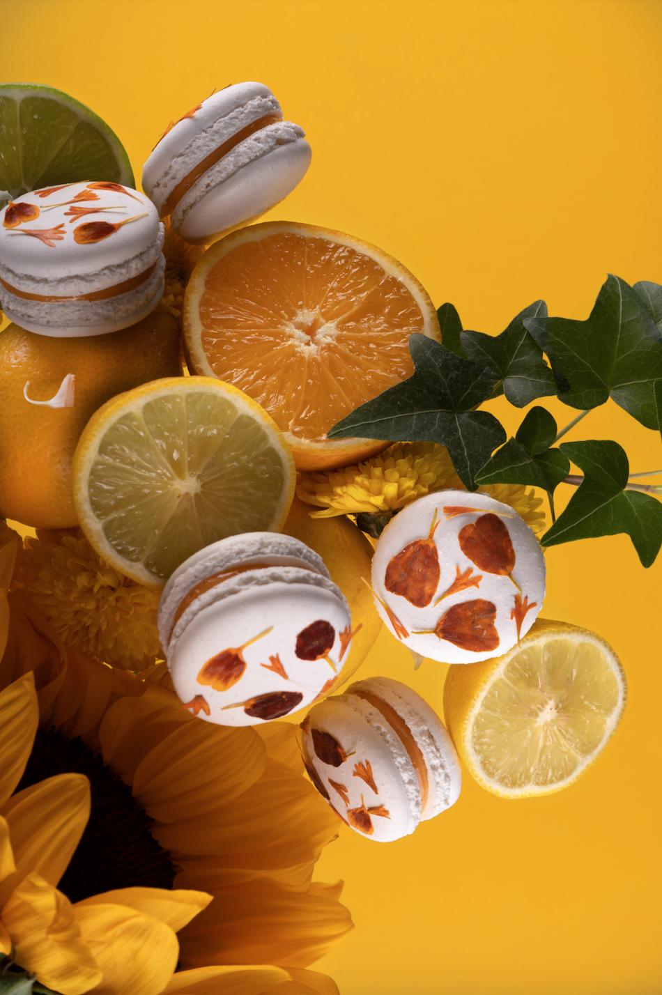 Macaron de cítricos & azahar