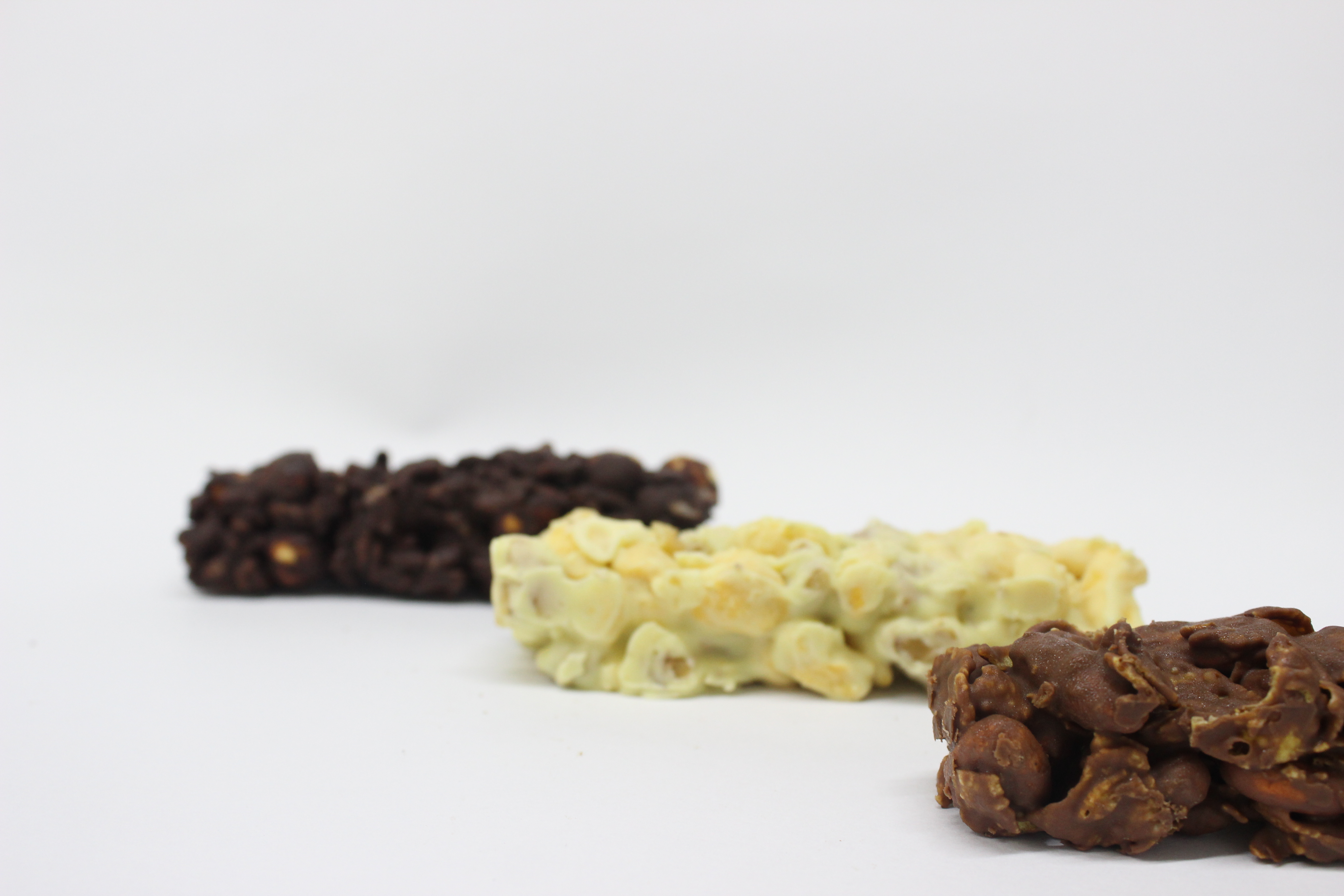 Barras de chocolate,