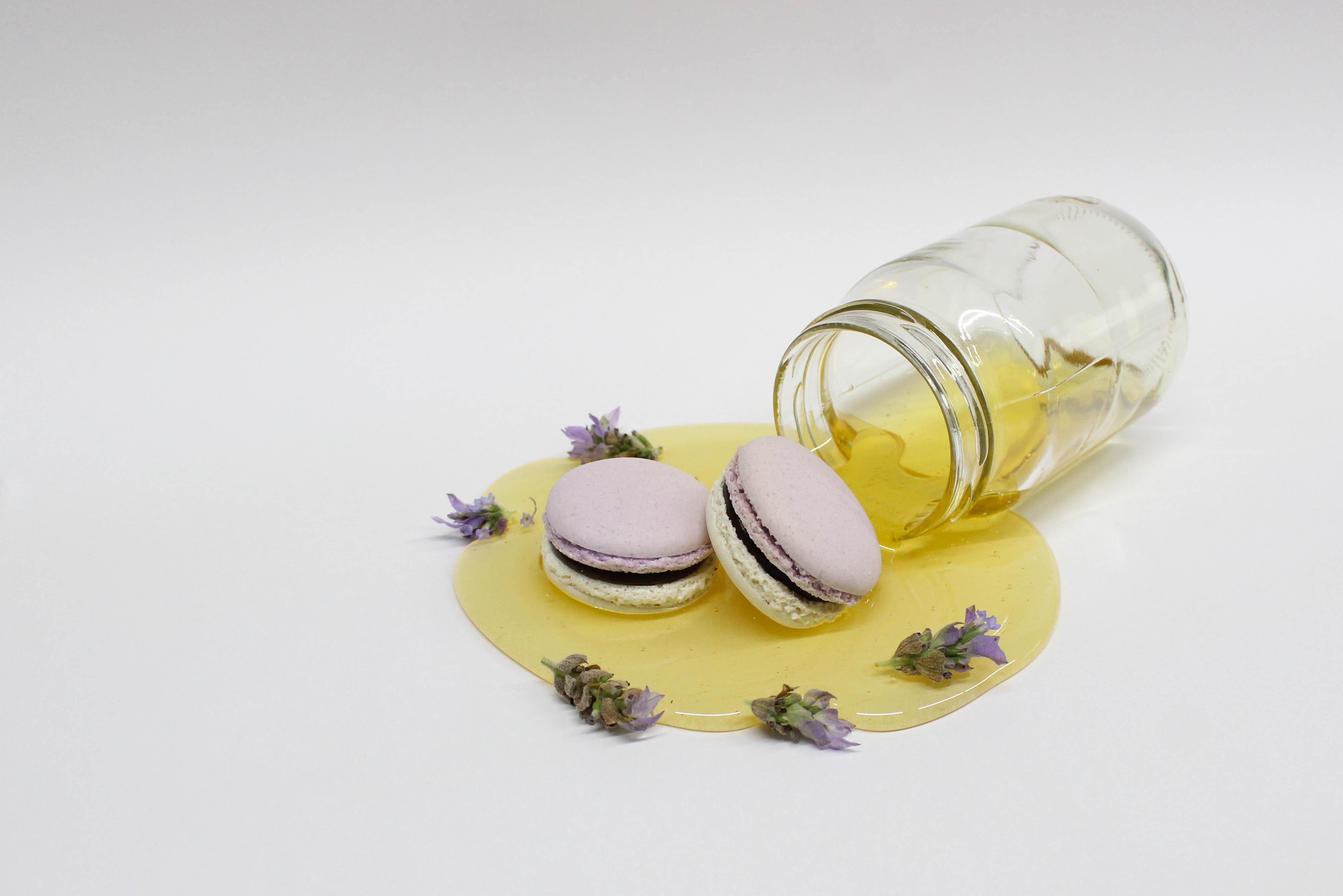 Macarón de Lavanda y miel
