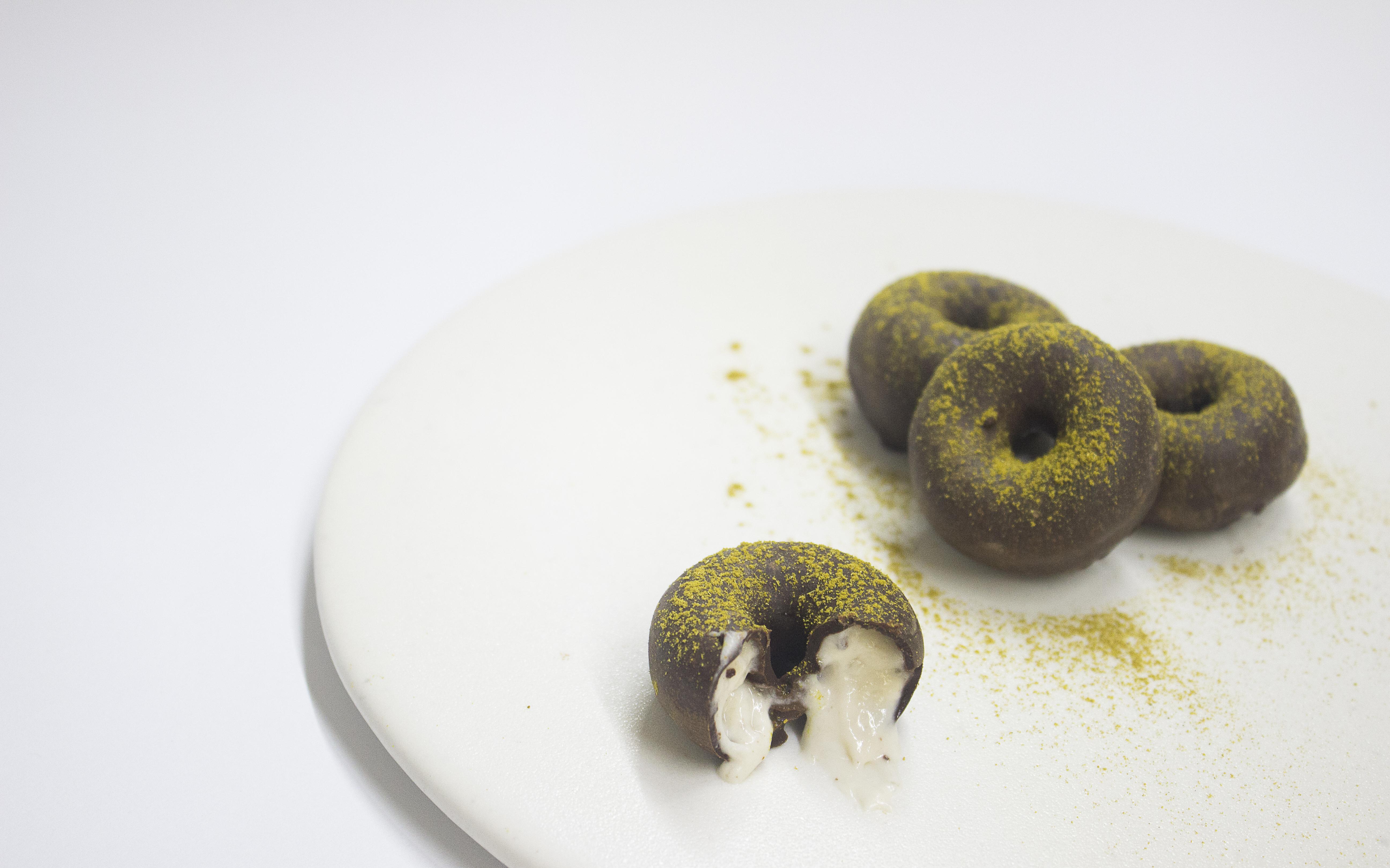 Donut liquido de platano