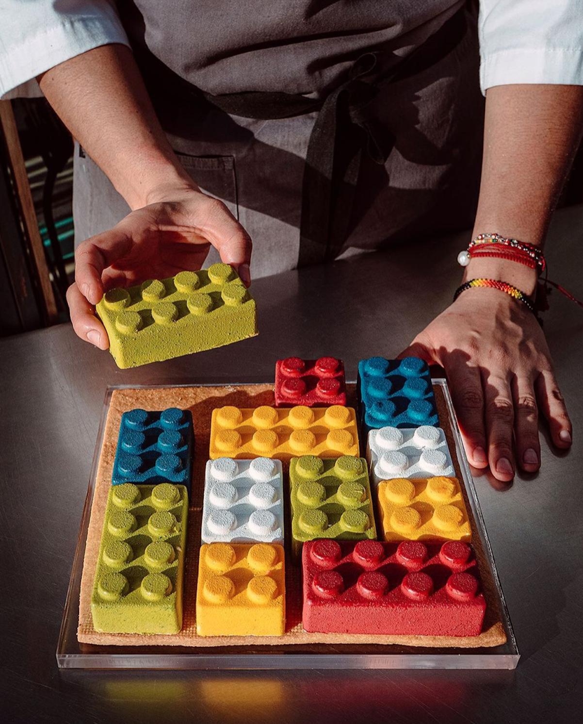 Pastel Lego