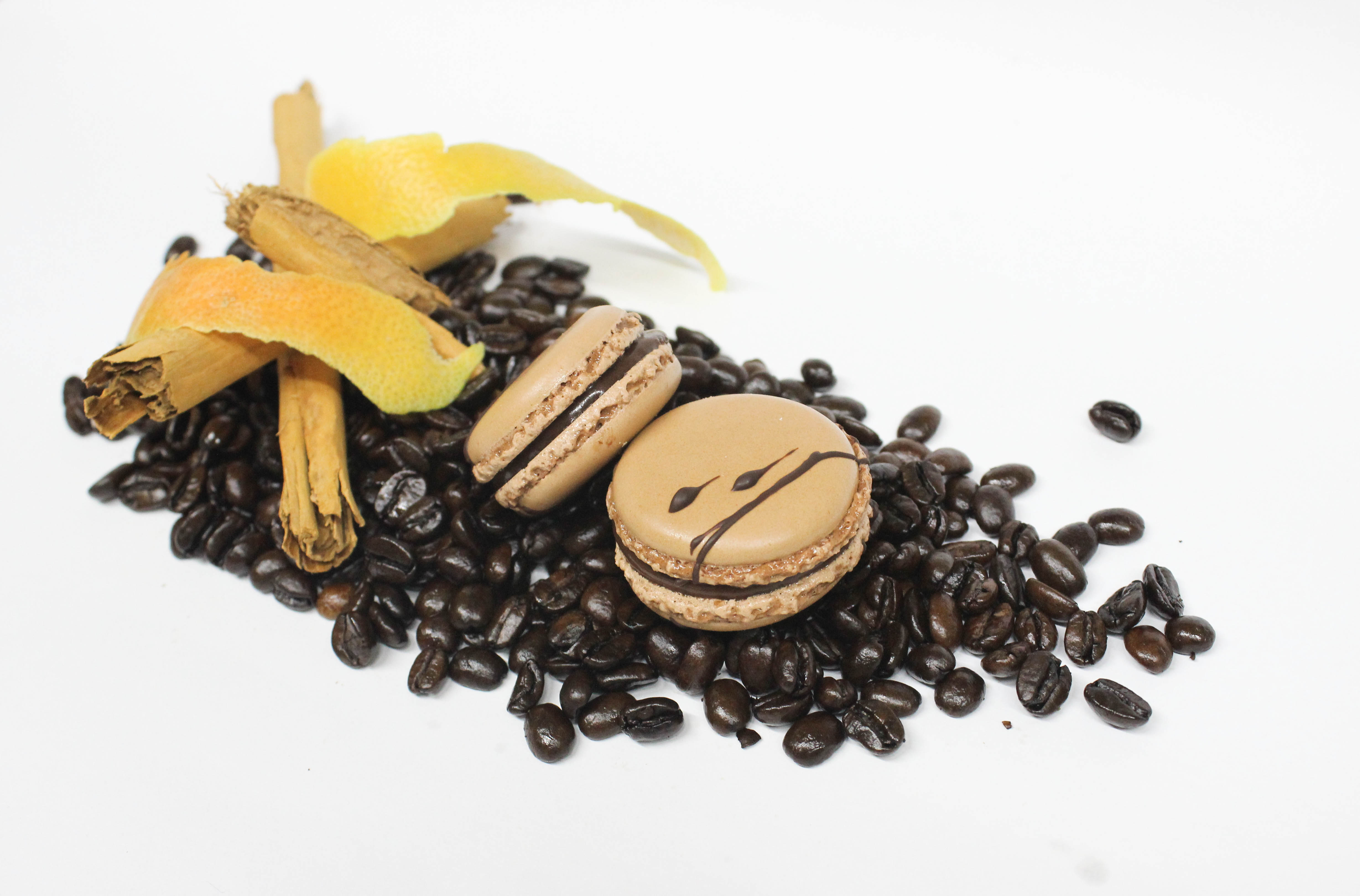 Macarón de café de olla