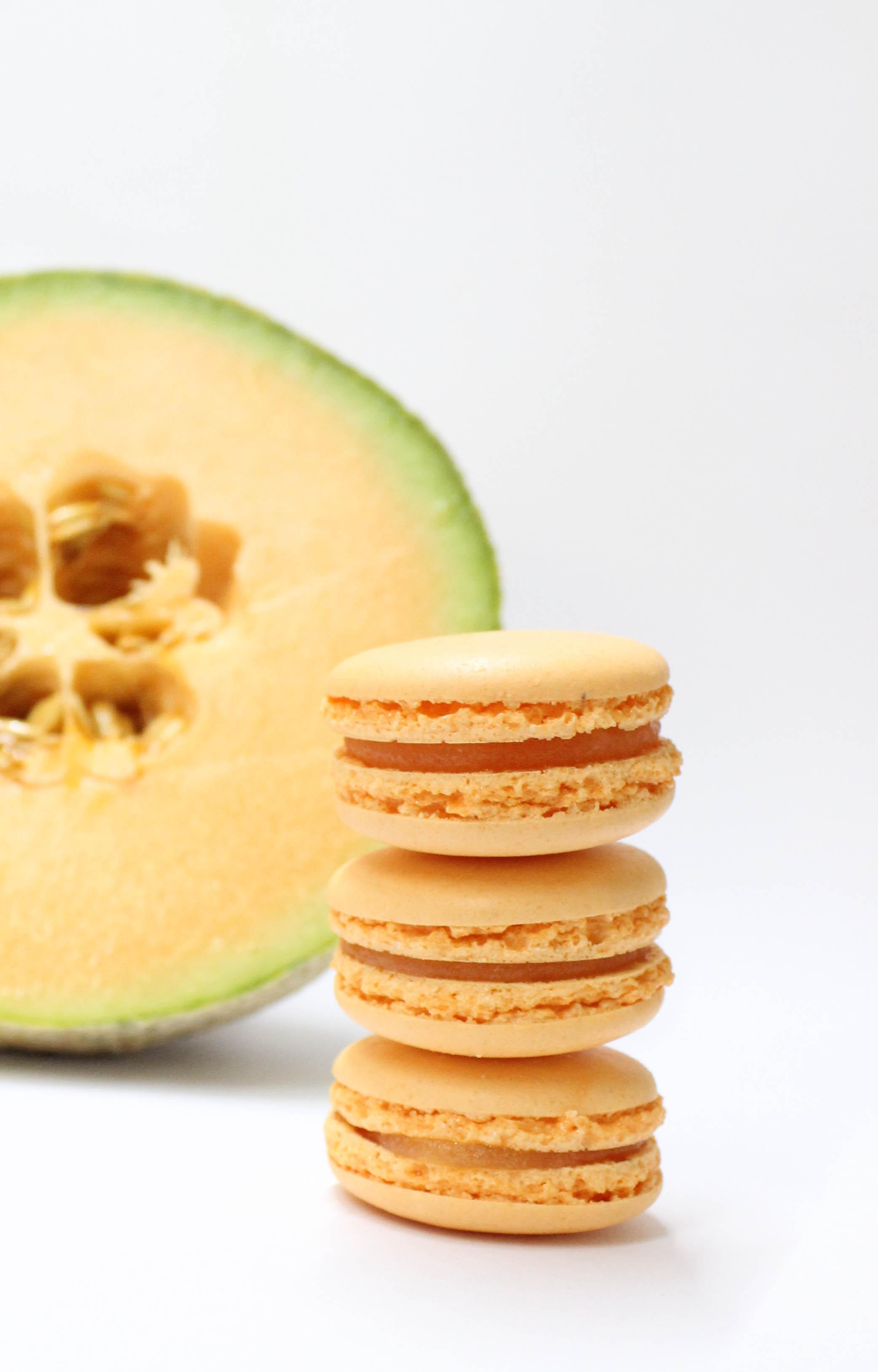 Macarón de melón