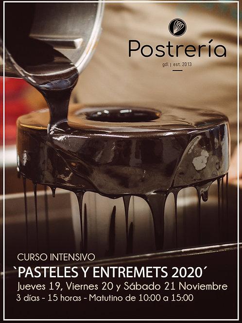 Curso intensivo 'PASTELES Y ENTREMETS 2020' - Noviembre - [PRESENCIAL]