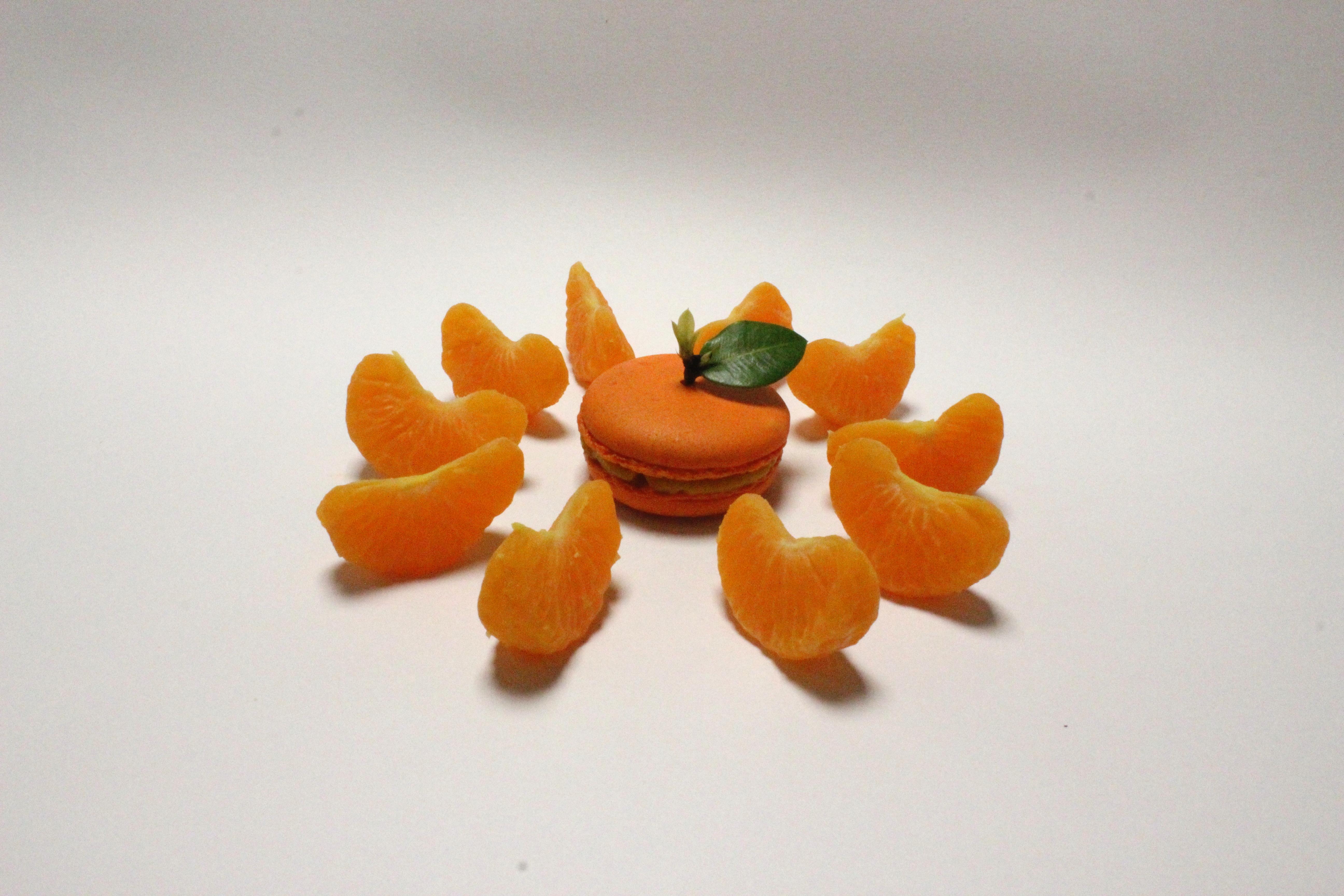 Macarón de Mandarina