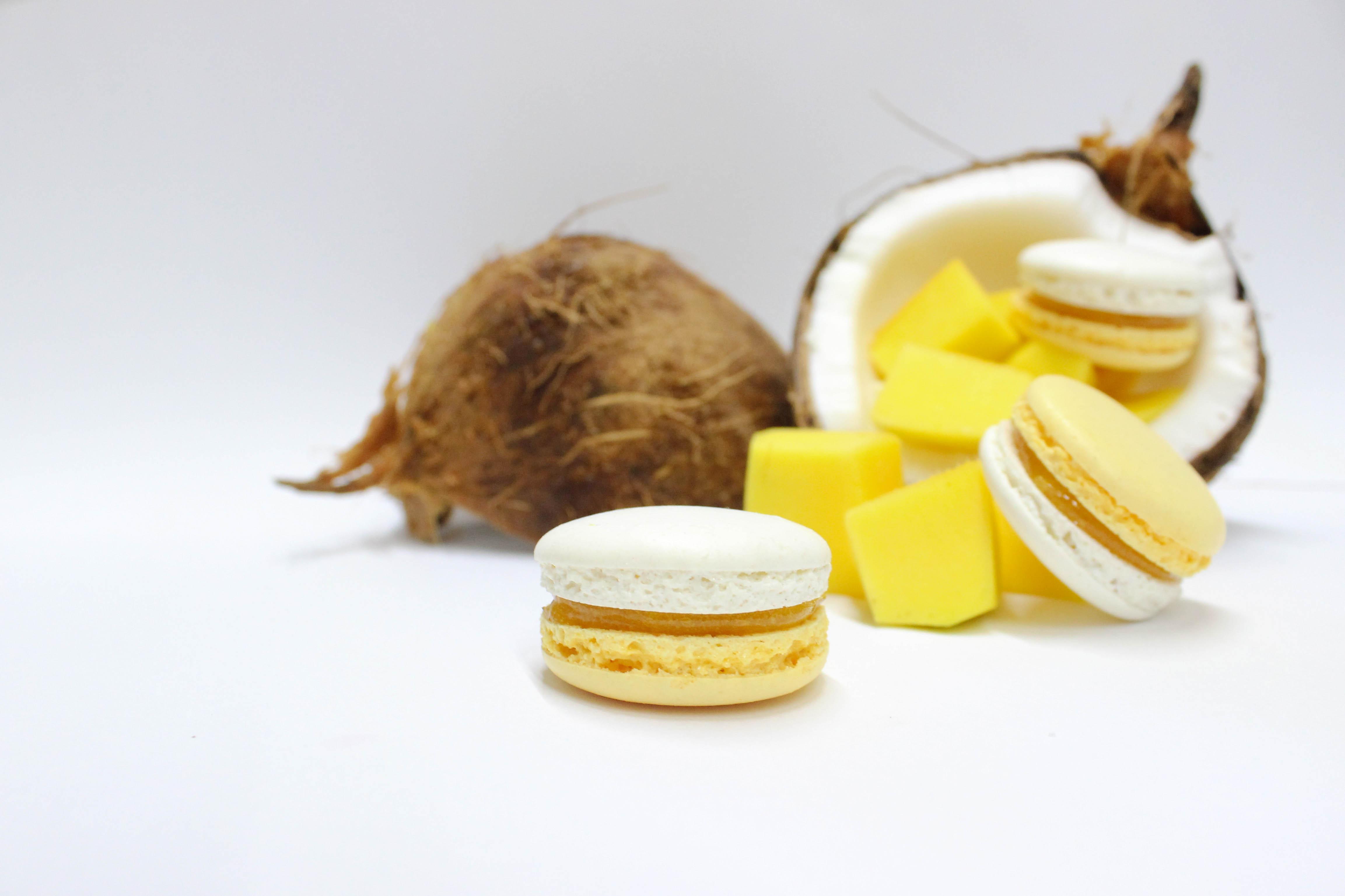 Macarón de Mango y Coco