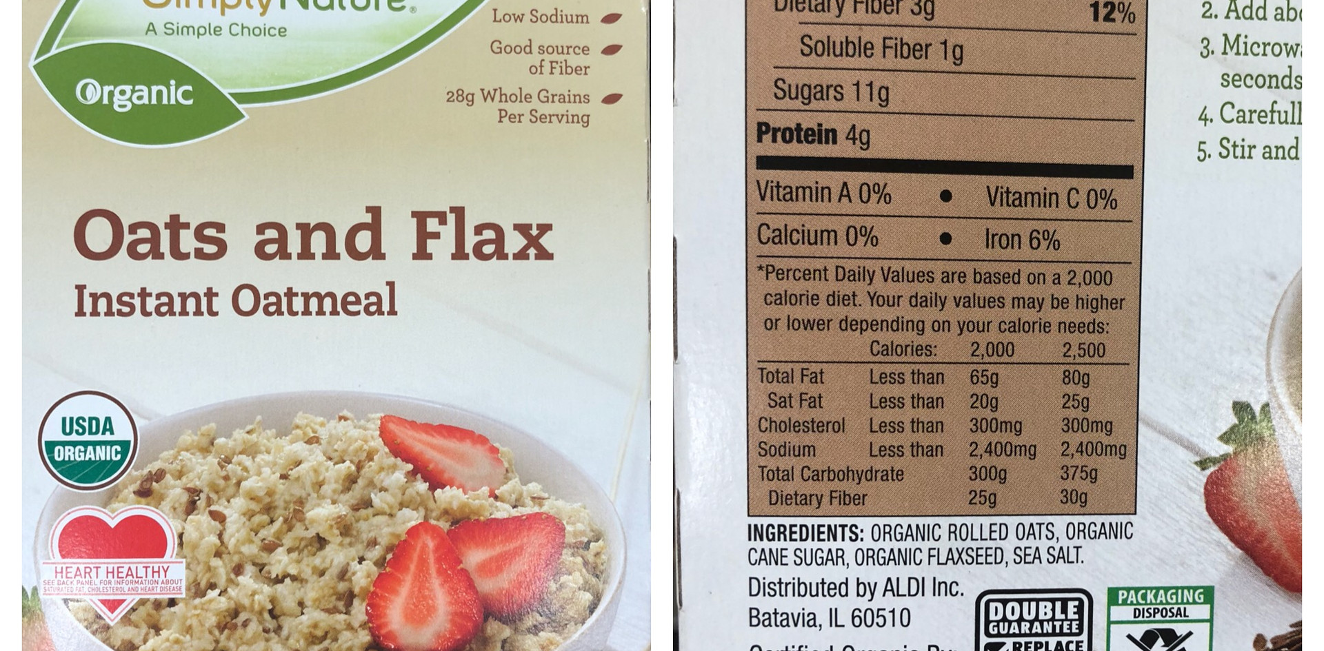 Oats and Flax