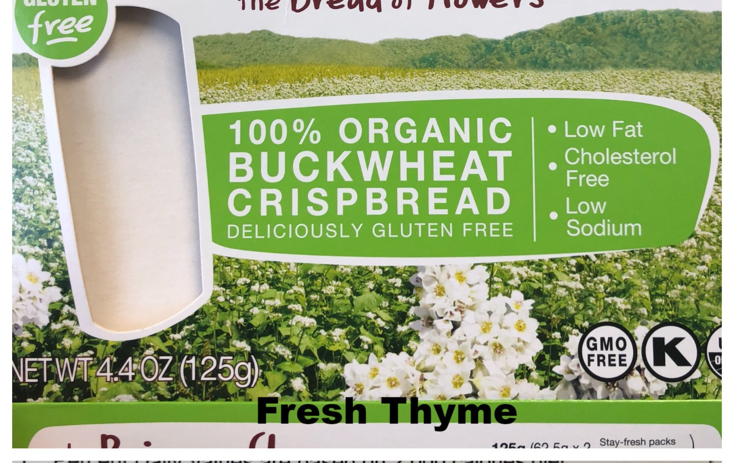 Buckwheat Crackers