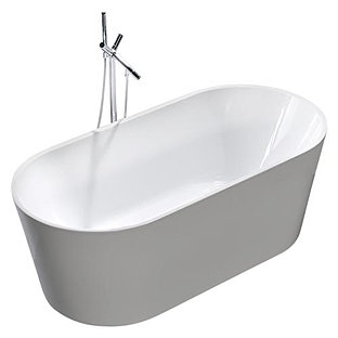 Lota Contemporary Bathroom White Bathtub cUPC Certification 126815. Contemporary Bathroom White Bathtub cUPC Certification 126815