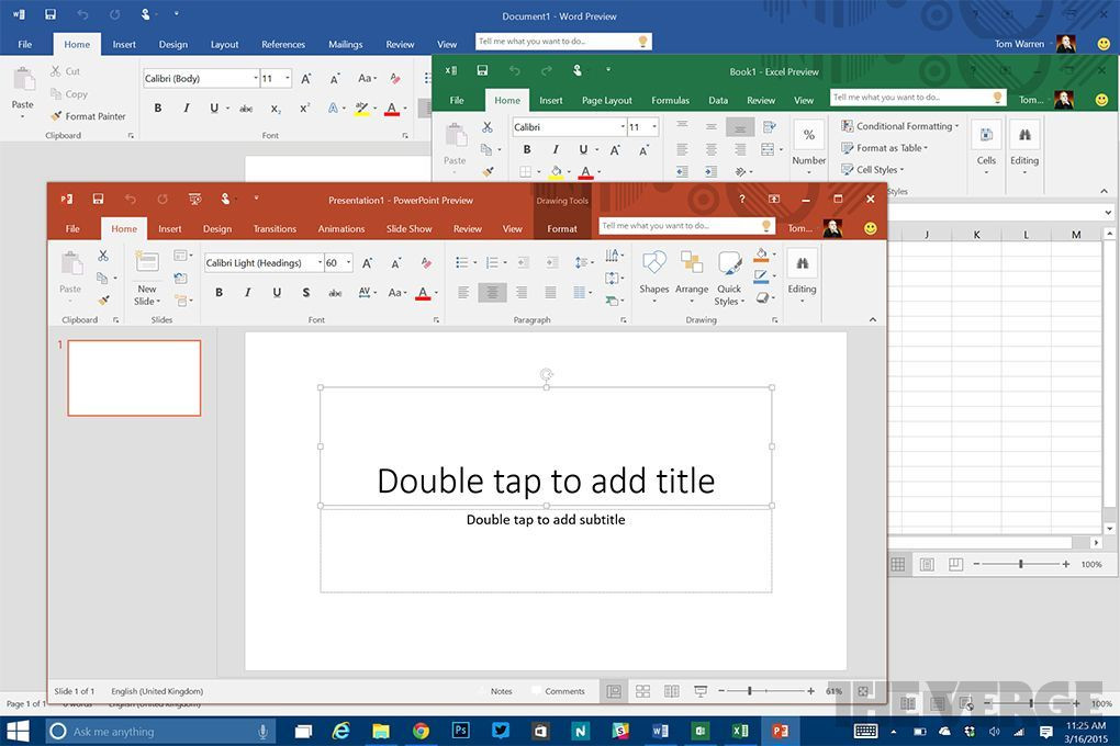Office 365 title
