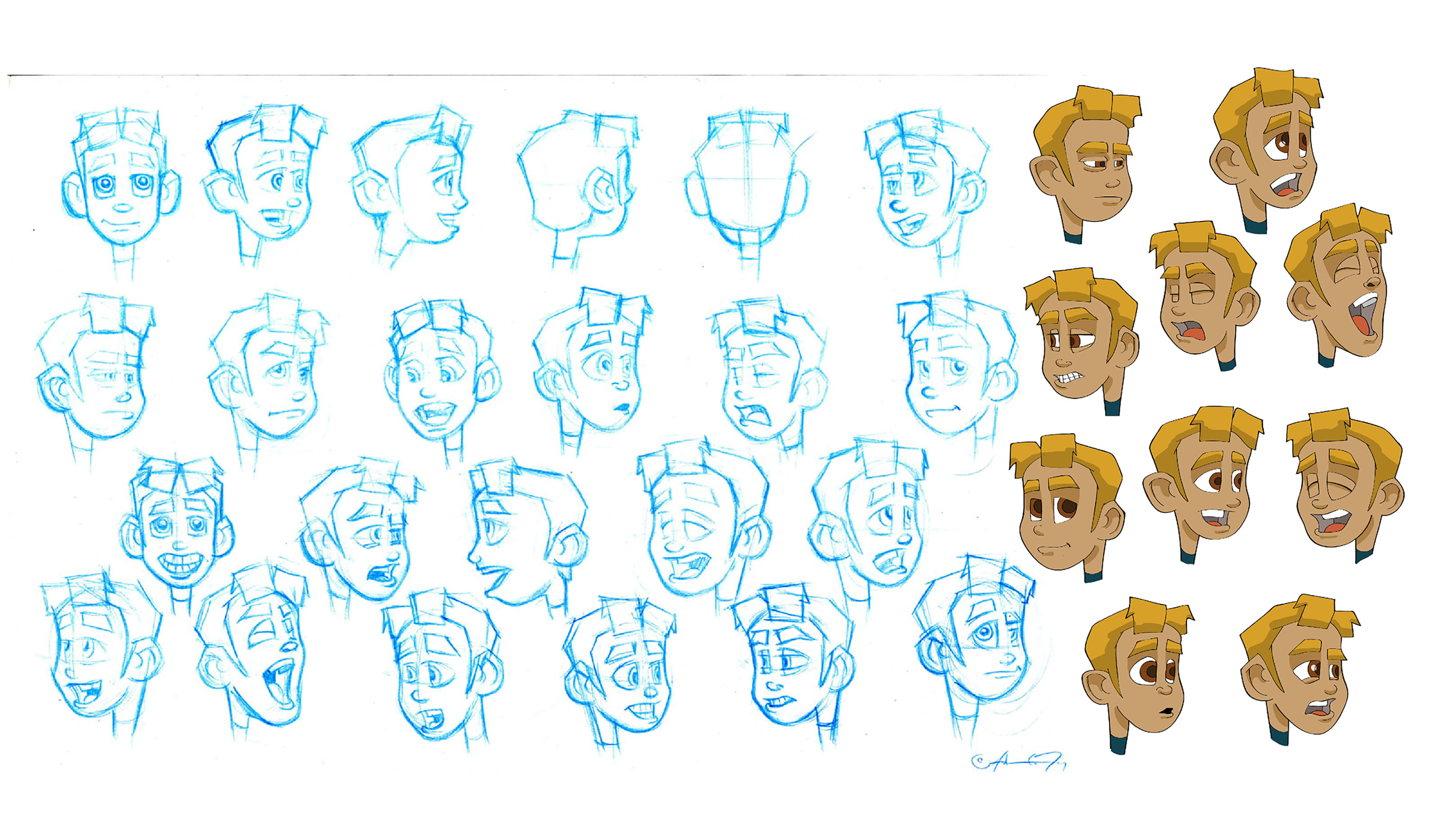 Pyotr Expression Sheet