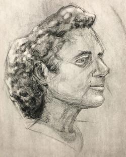 Portrait Study, 10'
