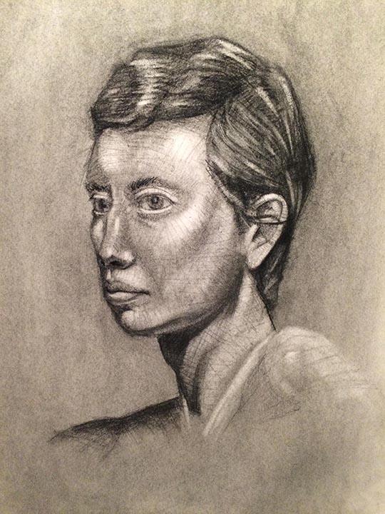 Portrait Study. 3hrs
