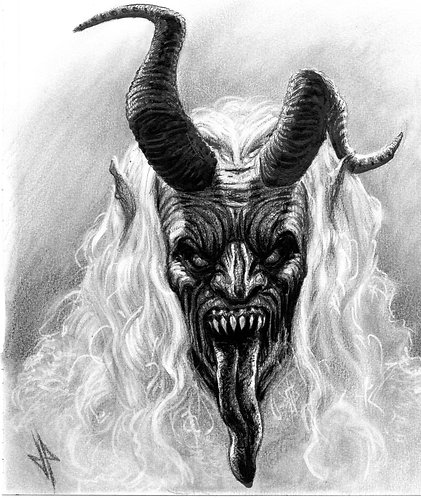 Krampus Thanks You- Original