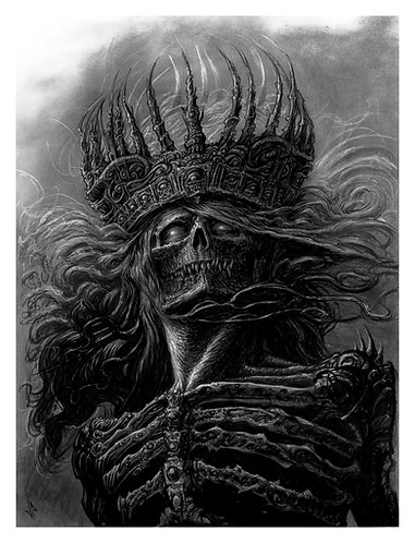 Lord of the Damned 13 X 17 Giclee Print