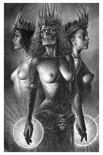 Drei Hexen - Print
