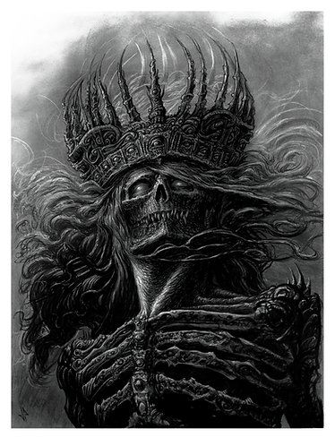 Lord of Damned 15 X 20 Giclee Print