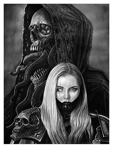 Amarra and the Soul Thief 15 X 20 Giclee Prints