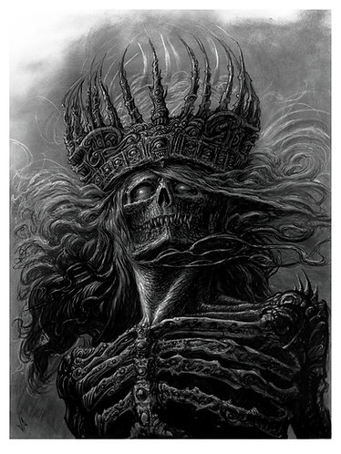 Lord of the Damned 18 X 24 Giclee Print