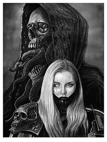 Amarra and the Soul Thief 18 X 24 Giclee Prints