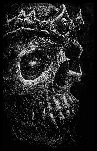 No Life King- Satin print