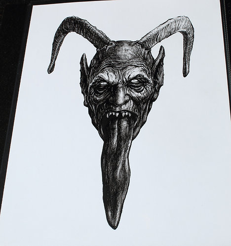 Original Miguel Walch Inspired Krampus