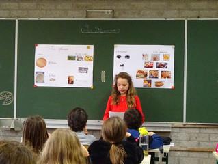 Les élocutions présentées par les élèves de 4ème année.