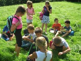 Promenade avec les élèves de 3ème et 4ème années