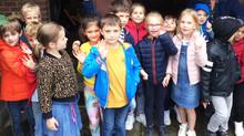 Notre visite au jardin du Papy et de la Mamy d'Olivia
