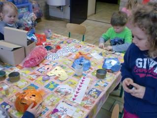 Le carnaval en maternelle