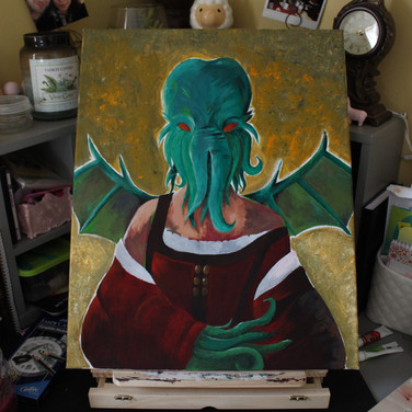 Commission: Lady Cthulhu