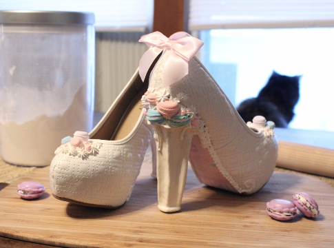 Macaron Heels